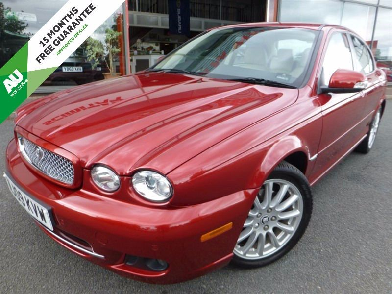 used Jaguar X-Type S + LOW MILES + 1 OWNER + FJSH + CREAM LEATHER +  in chester