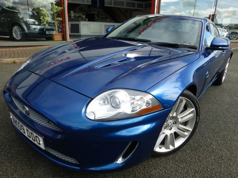 used Jaguar XK XKR + LOW MILES + FJSH + SAT-NAV + LOVELY COLOUR in chester