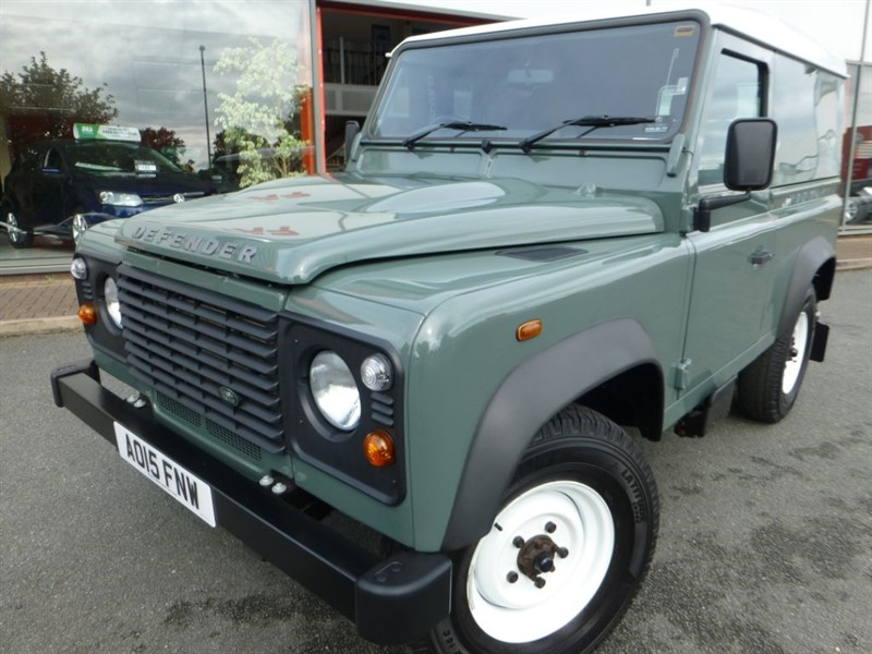 used Land Rover Defender 90 TD HARD TOP in chester