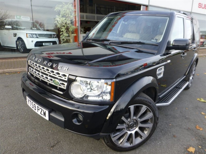 """used Land Rover Discovery 4 TDV6 HSE + FLSH + SAT-NAV + SUNROOF + 21"""" ALLOYS  + PRIVACY GLASS + WOW in chester"""