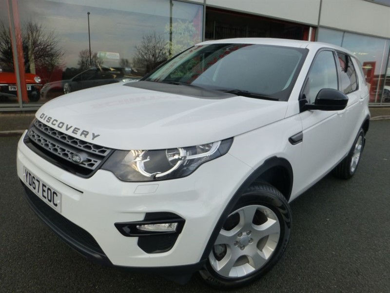 used Land Rover Discovery Sport TD4 PURE SPECIAL EDITION + 1 LADY OWNER + AS NEW CONDITION  in chester