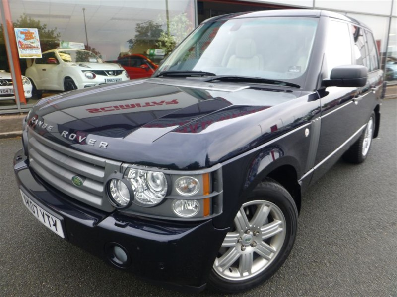 used Land Rover Range Rover TDV8 VOGUE + ELECTRIC SUNROOF + FLSH + CREAM LEATHER + PRIVACY GLASS +++ in chester