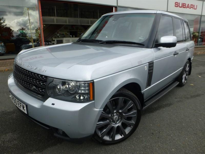 """used Land Rover Range Rover TDV8 VOGUE + 21"""" ALLOYS + SUNROOF + FSH + SIDE STEPS + SAT-NAV + STUNNING + in chester"""