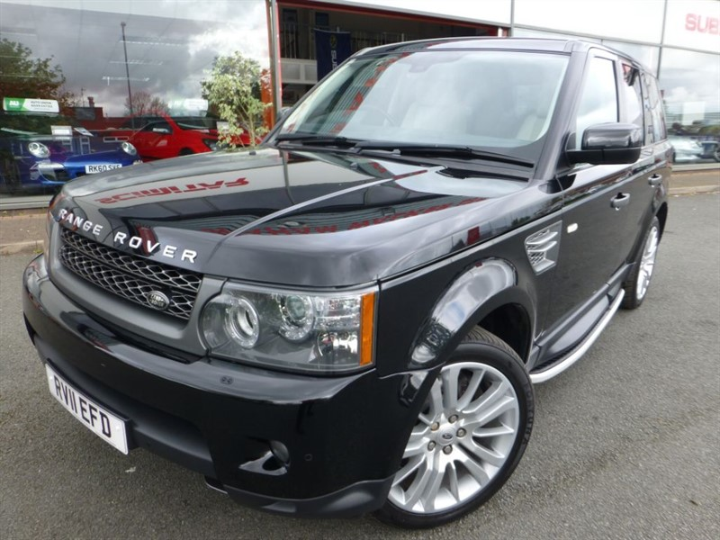 used Land Rover Range Rover Sport TDV6 HSE + CREAM LEATHER + FLHS + LOW MILES + REVERSE CAMERA + FANTASTIC  in chester