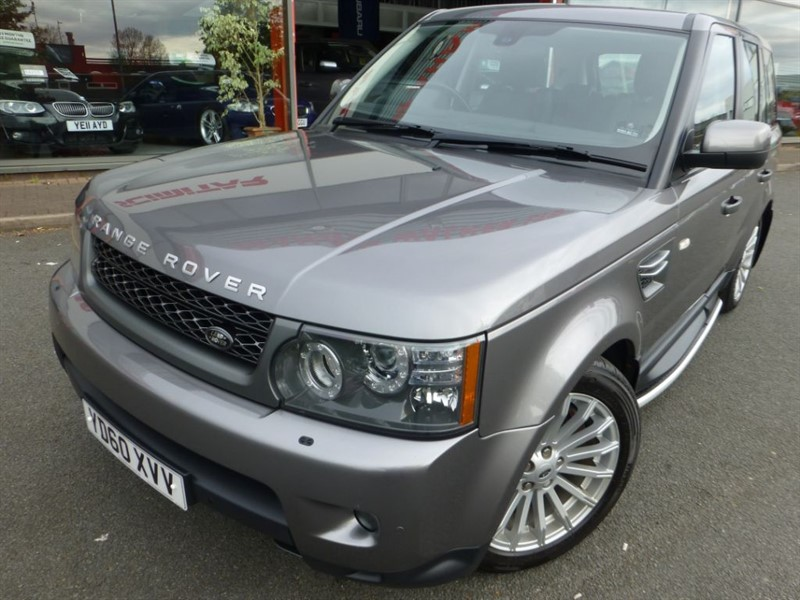 used Land Rover Range Rover Sport TDV6 SE + SAT-NAV + 3 STAGE HEATED LEATHER + FLSH + GREAT COLOUR + SIDE STE in chester