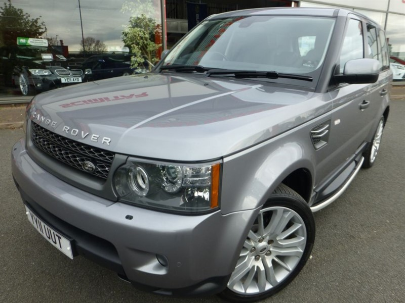 used Land Rover Range Rover Sport TDV6 HSE + SPECIAL LEATHER + SAT-NAV + FLSH + REVERSE CAMERA + 1 OWNER in chester