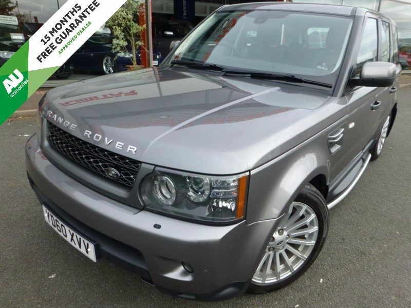 used Land Rover Range Rover Sport TDV6 SE + SAT-NAV + 3 STAGE HEATED SEATS + FLSH + PRIVACY GLASS + SIDE STEP in chester