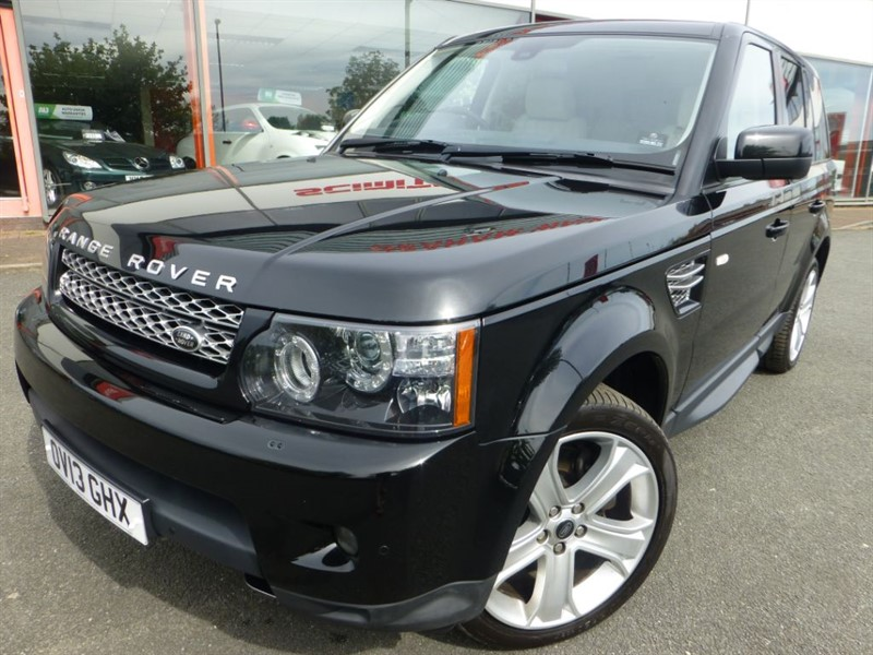 used Land Rover Range Rover Sport SDV6 HSE BLACK EDITION + FSH + SAT-NAV + LOW MILES + CREAM LEATHER + 2 OWNE in chester