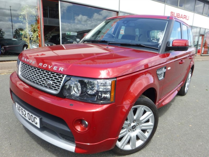 used Land Rover Range Rover Sport SDV6 AUTOBIOGRAPHY SPORT + FSH +  TWO-TONE LEATHER + LOVELY +  in chester