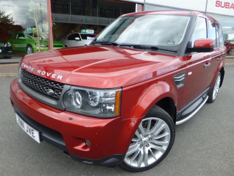 used Land Rover Range Rover Sport TDV6 HSE + CREAM LEATHER + FSH + REVERSE CAMERA + SIDE SKIRTS + PRIVACY GLA in chester