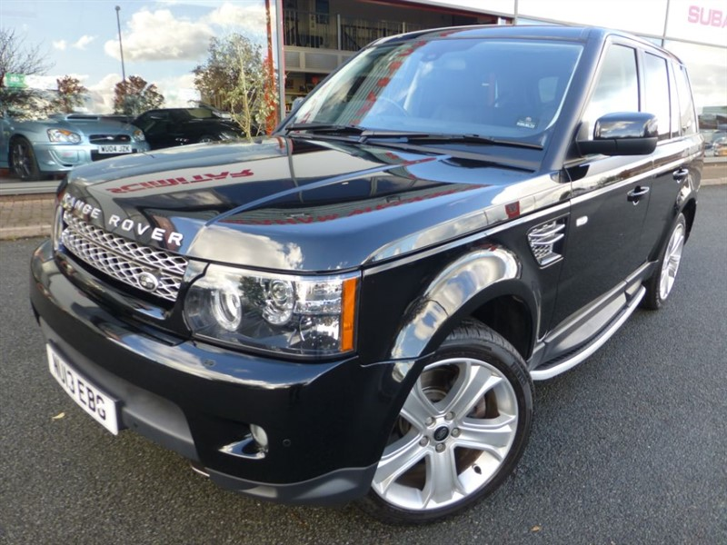 used Land Rover Range Rover Sport SDV6 HSE BLACK EDITION + FSH + SAT-NAV + LOW MILES + BEAUTIFUL EXAMPLE +  in chester