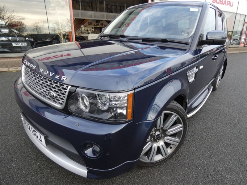 used Land Rover Range Rover Sport SDV6 AUTOBIOGRAPHY SPORT + FLSH +  TWO-TONE LEATHER + SAT-NAV + TOW-BAR +++ in chester