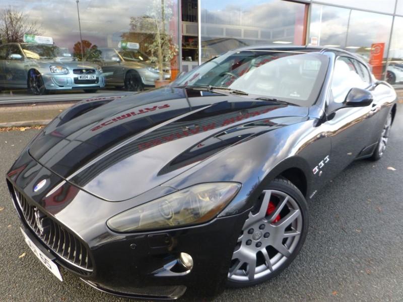 "used Maserati Granturismo V8 + SAT-NAV + FSH + 20"" ALLOYS + SPORTS EXHAUST + LOCAL CAR + STUNNING +++ in chester"
