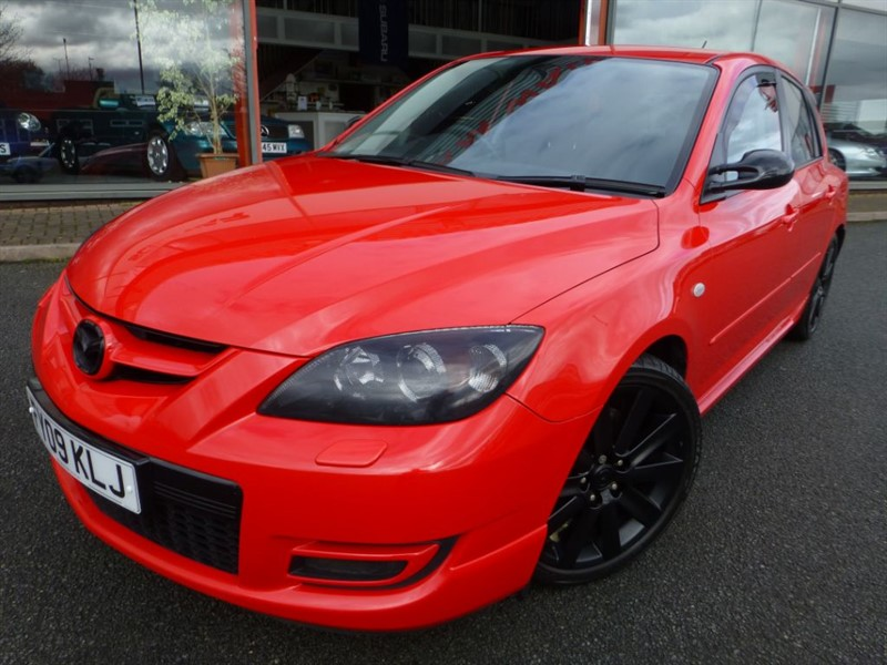 used Mazda  3 MPS AERO SPORTS + FMSH + LOW MILES + 300 BHP + JUST STUNNING EXAMPLE in chester