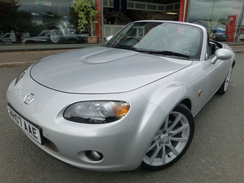 used Mazda MX-5 I ROADSTER SPORT + FSH + HEATED BLACK LEATHER + POWER ROOF + AUTO AIR-CON + in chester