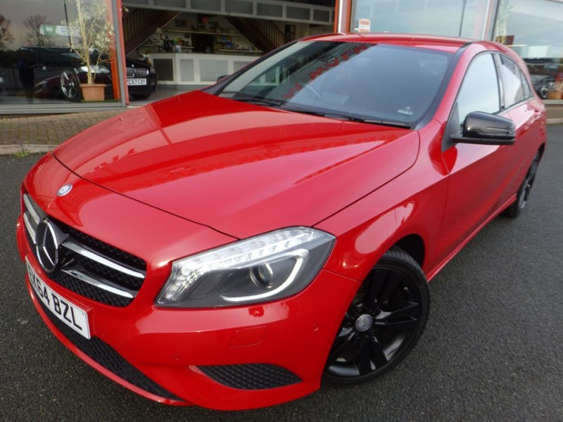 """used Mercedes A200 CDI SPORT + SAT-NAV + F & R PARKING SENSORS + 18"""" UPGRADE ALLOYS + PRIVACY  in chester"""