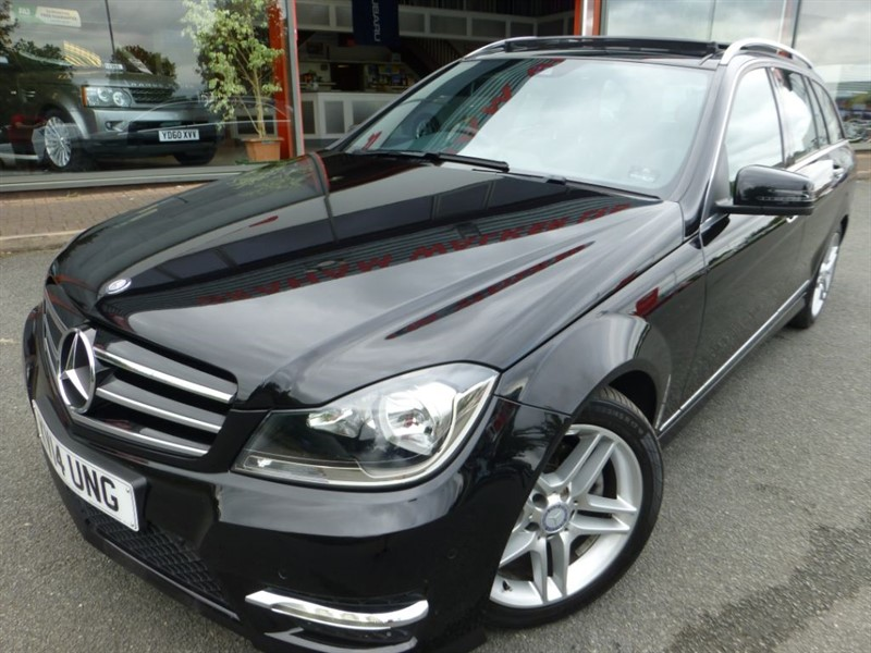 used Mercedes C220 CDI AMG SPORT EDITION PREMIUM PLUS + SAT-NAV +REVERSE CAMERA + FMSH+SUNROOF in chester