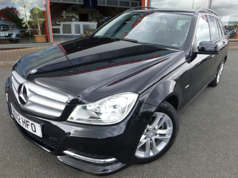 used Mercedes C220 CDI BLUEEFFICIENCY EXECUTIVE SE + LOW MILES + FSH + SAT-NAV + FULL LEATHER  in chester