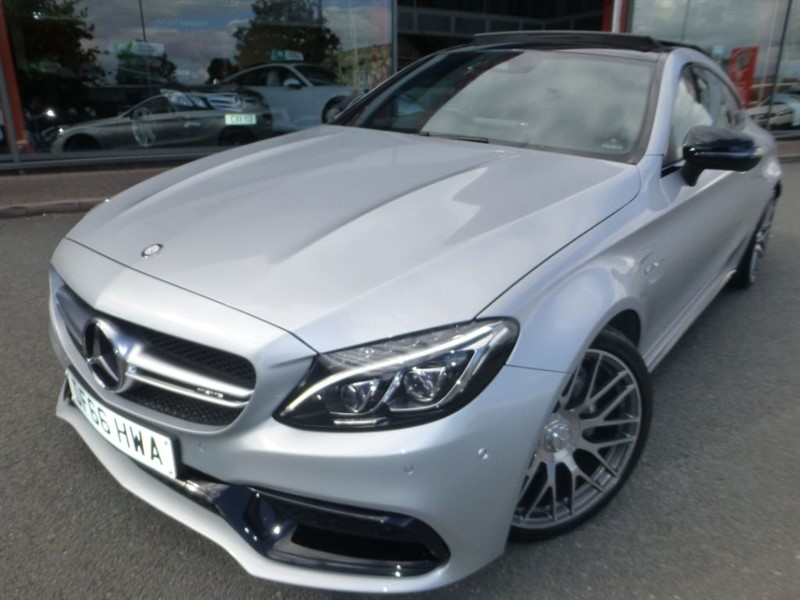 "used Mercedes  C-CLASS AMG C 63 PREMIUM + 20"" ALLOYS + FMSH + PAN-ROOF + BIG MUSIC in chester"