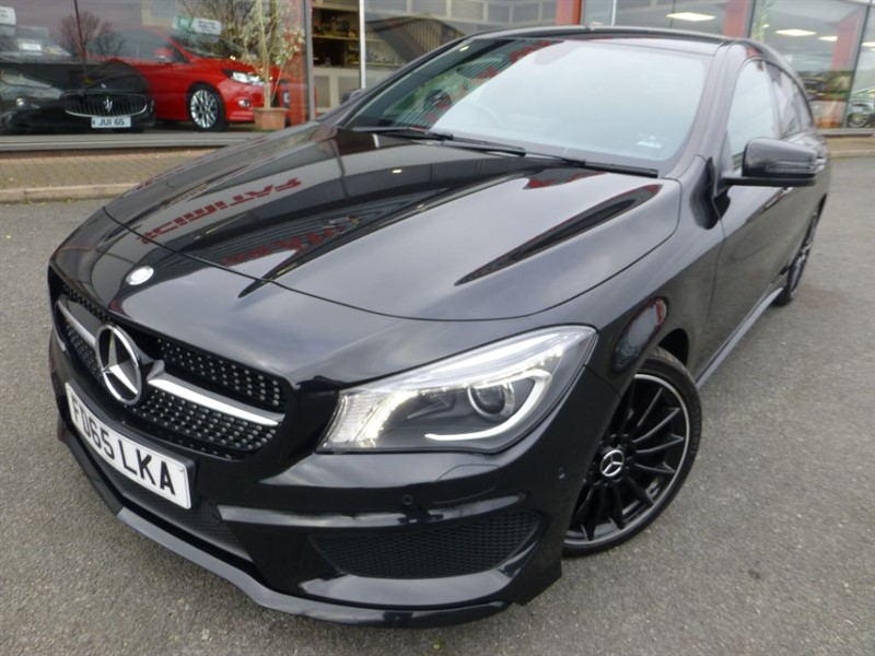 used Mercedes  CLA CLA 200 D AMG LINE + 2 OWNERS + FMSH + SAT-NAV + PRIVACY GLASS + AS NEW in chester
