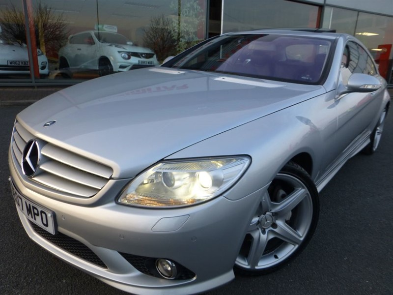used Mercedes CL500 + 1 OWNER FROM NEW + FSH + NON SMOKER + EXTRA'S WOW + STUNNING  in chester