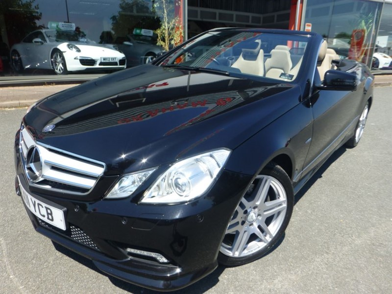 used Mercedes E350 CDI BLUEEFFICIENCY SPORT + 1 LADY OWNER + FMSH + BEIGE HEATED/NECK SCARF ++ in chester