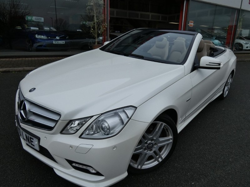 used Mercedes E200 CGI BLUEEFFICIENCY SPORT in chester