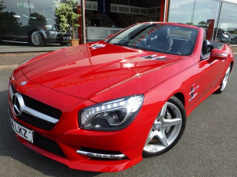 "used Mercedes SL SL350 AMG SPORT + SAT-NAV + LOW MILES + FMSH + 19"" ALLOYS +  in chester"