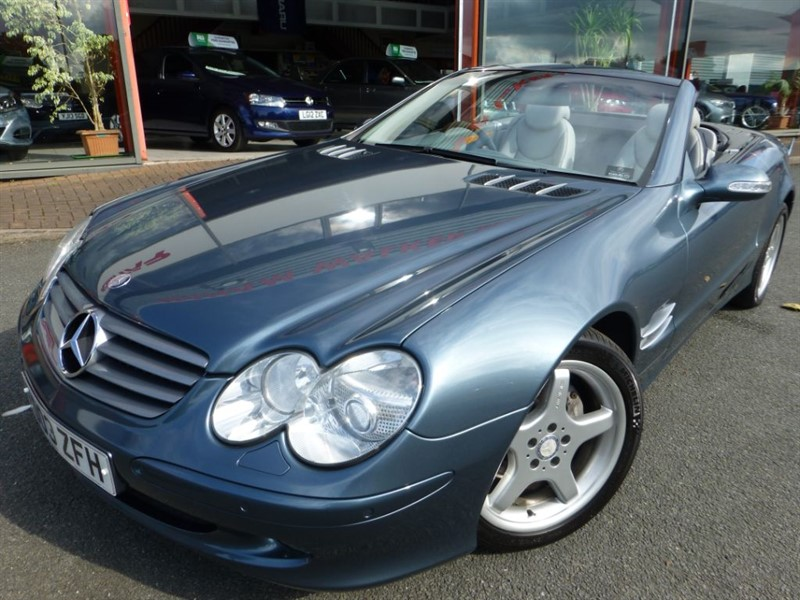 used Mercedes SL SL500 AMG SPORT + LOVELY COLOUR + VERY LOW MILES + STUNNING CONDITION  in chester