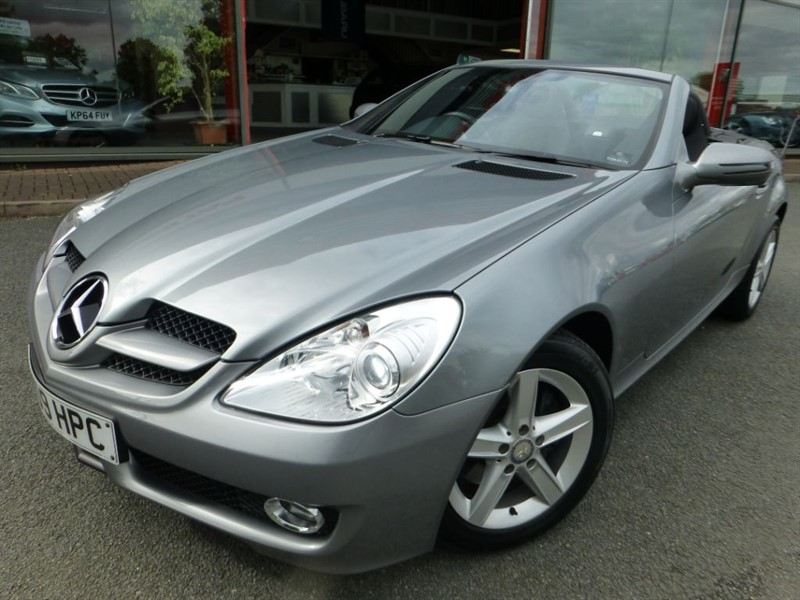 used Mercedes SLK SLK200 KOMPRESSOR + FMSH + LOW MILES + REVERSE PARKING + CRUISE CONTROL + in chester