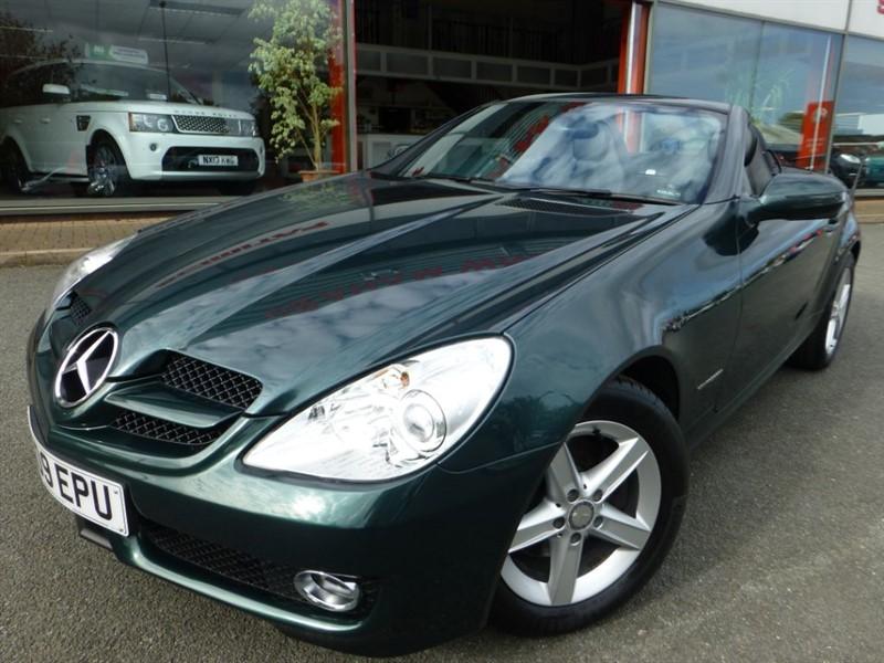used Mercedes SLK SLK200 KOMPRESSOR + CRUISE + AUTO LIGHTS + FMSH + FULL LEATHER +  in chester