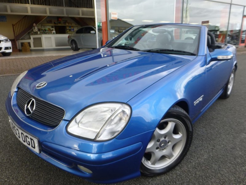 used Mercedes SLK SLK230 KOMPRESSOR + LOW MILES + FSH + AMAZING CONDITION + BARGAIN +++++++++ in chester
