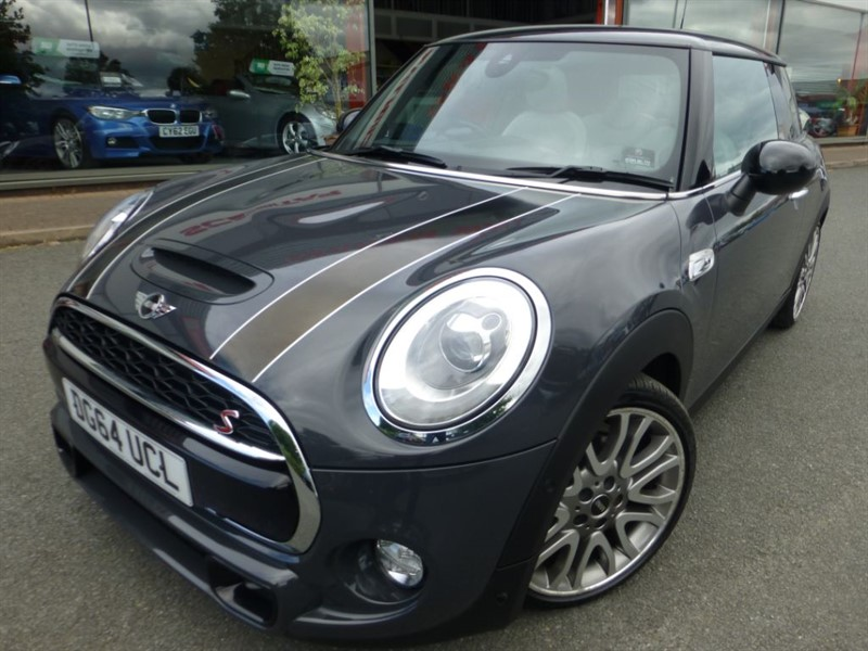 used MINI Hatch COOPER SD + HUGE SPEC + FBMWSH + SUNROOF + GREY LEATHER + F & R PARK + WOW in chester