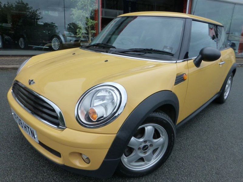 used MINI Hatch ONE + FSH + 6= SPEED + AIR-CON + LOVELY  in chester