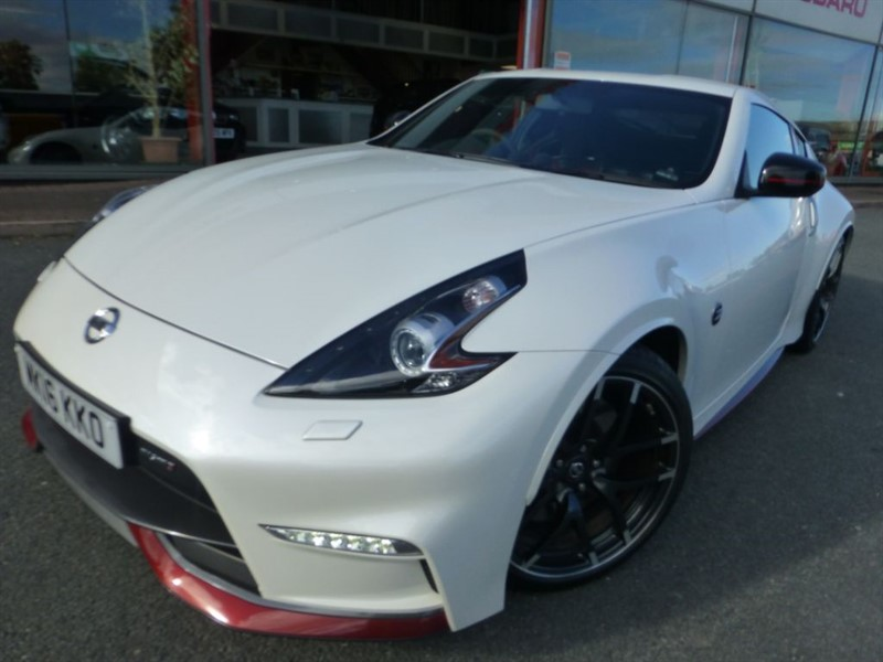 used Nissan 370Z V6 NISMO + 1 OWNER + FNSH + NAV + BEST COLOUR + UPGRADE RECARO UPHOLSTERY  in chester