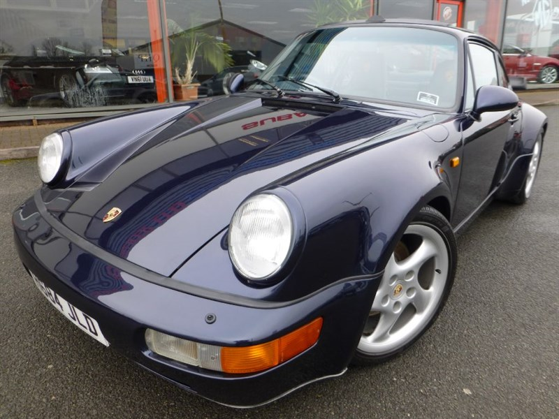 used Porsche 911 Turbo 964 TURBO + 18 SERVICE STAMPS + RECENT 8K ENGINE REBUILD + WOW in chester