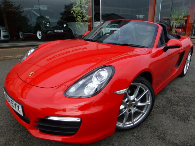"""used Porsche Boxster 24V + 1 OWNER + FPSH + ONLY 3600 MILES + 20"""" ALLOYS + HEATED SEATS + AS NEW in chester"""