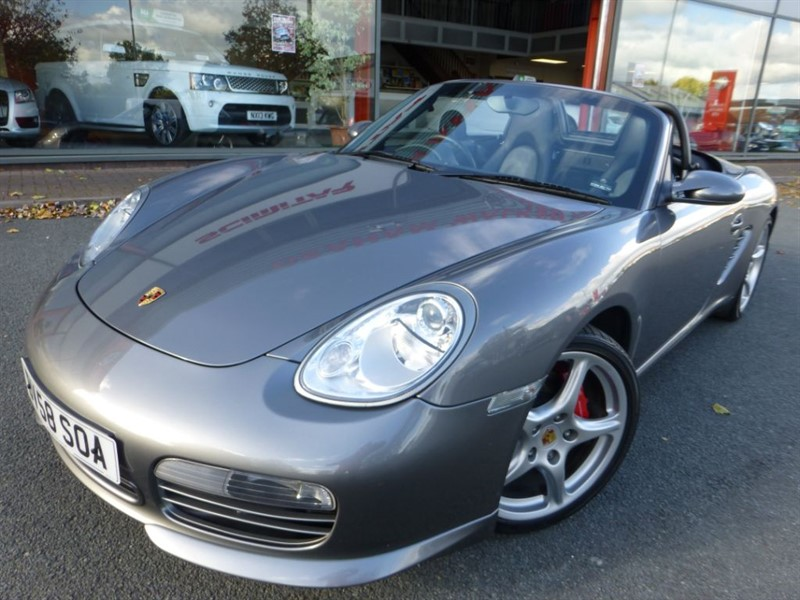 used Porsche Boxster 24V S SPORT EDITION +1 LADY OWNER + FPSH + REVERSE PARK + FANTASTIC EXAMPLE in chester