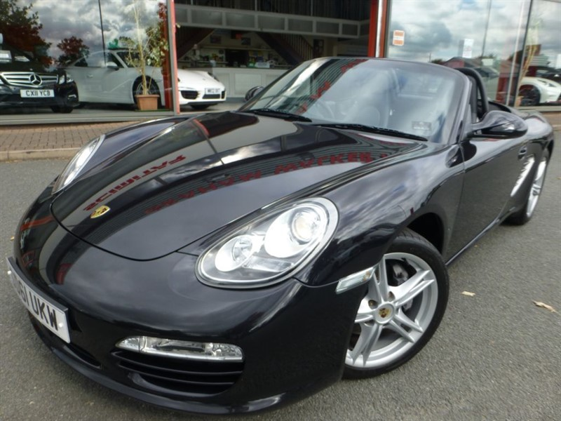 used Porsche Boxster 24V PDK + SAT-NAV + FPSH + HEATED LEATHER +  in chester