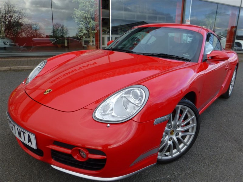 "used Porsche Cayman 24V S + 19"" ALLOYS + PSM + SAT-NAV + FPSH + LOW MILES + REVERSE PARK + WOW  in chester"