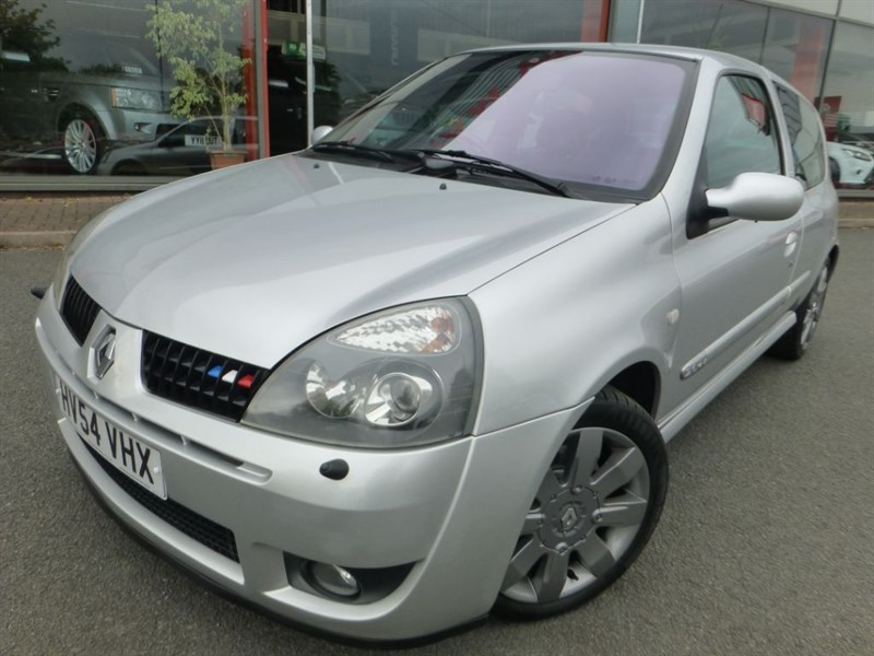 used Renault Clio RENAULTSPORT 182 16V + STAINLESS EXHAUST + FSH + LOW MILES + LOVELY EXAMPLE in chester