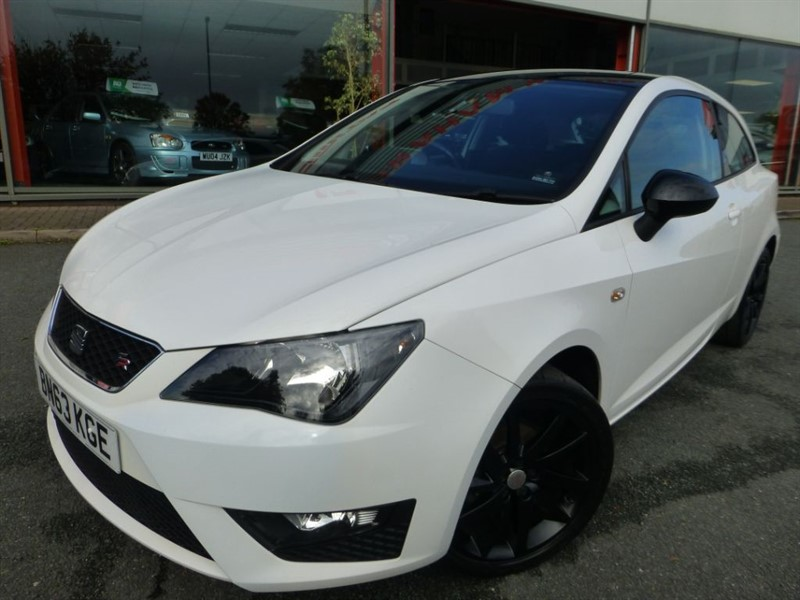"used SEAT Ibiza TSI FR + 17"" ALLOYS + PAN-ROOF + FSH + PRIVACY GLASS + AIR-CON + STUNNING + in chester"