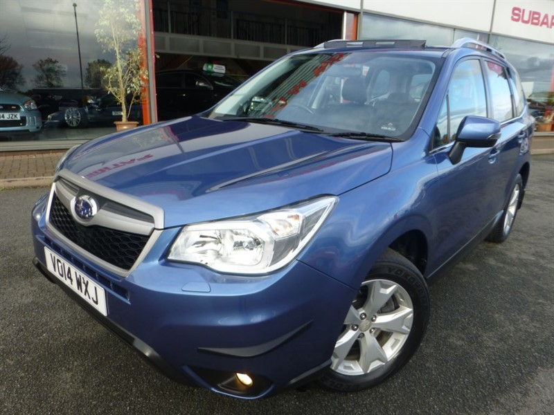 used Subaru Forester D XC PREMIUM + 2 OWNERS + SAT-NAV + PAN-ROOF + HEATED LEATHER + FSSH + MINT in chester