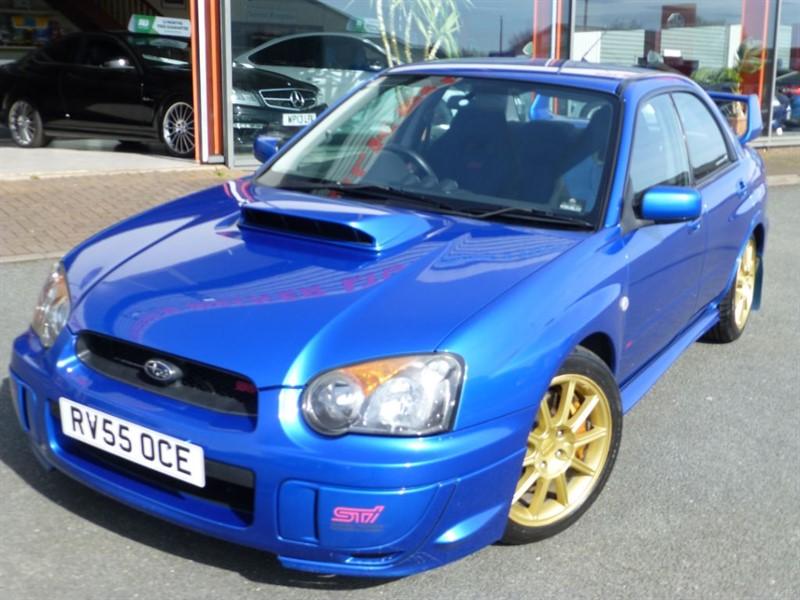 used Subaru Impreza WRX STI TYPE UK + 340 BHP + S/S EXHAUST + FSSH + WOW FACTOR CONDITION   in chester