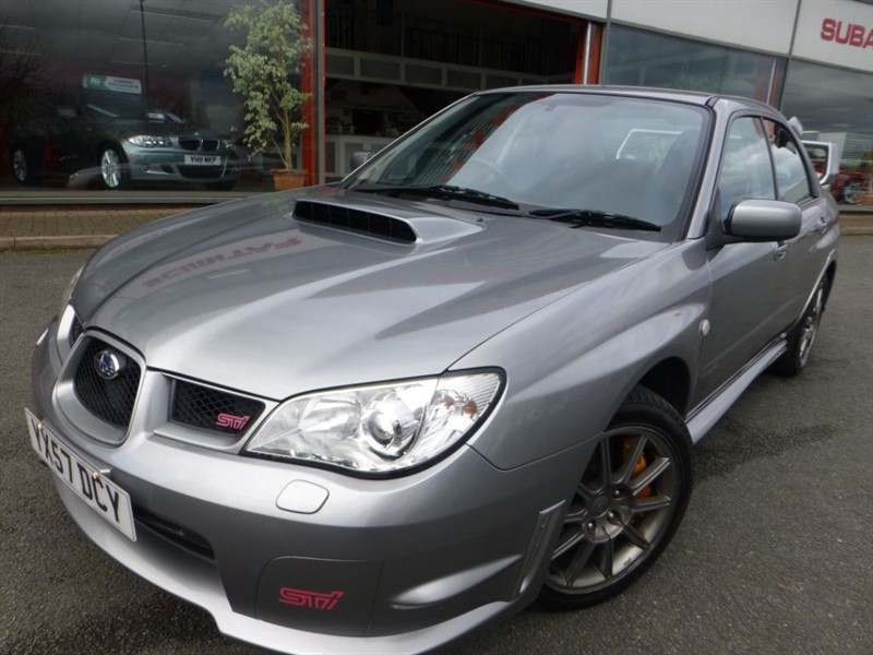 used Subaru Impreza WRX STI TYPE UK + STAINLESS STEEL EXHAUST + FSSH + LOW MILES + 316 BHP +   in chester