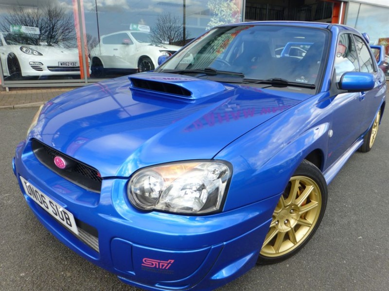 used Subaru Impreza WRX STI TYPE UK + FSH + S/S EXHAUST + 330 BHP + LAST OF THE 2.0 LITRE'S +   in chester