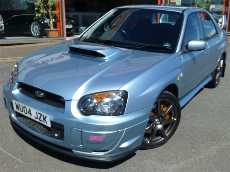 used Subaru Impreza WRX STI + 1 OF 500 PETTER SOLBERG  LTD EDITION + FSH + 300 BHP + in chester