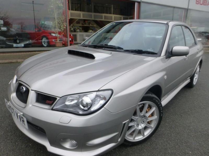 "used Subaru Impreza WRX STI SPEC-D + PPP 320 BHP + SMART NAV + LEATHER + 17"" ALLOYS + FSH +MINT in chester"