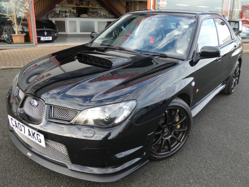 used Subaru Impreza RB320 + HALF LEATHER + FSH + AP BRAKES + £1000'S SPENT + WOW WOW in chester