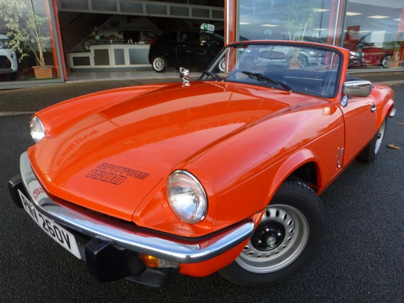 used Triumph Spitfire 1500 + GREAT CAR, LOVELY COLOUR &  in chester